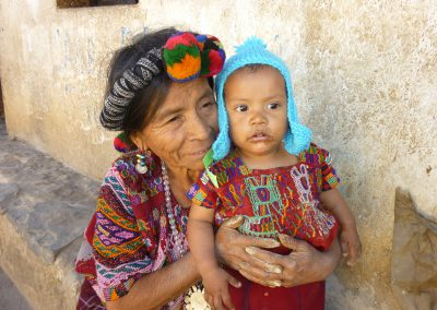 Guate-Grandmother and child